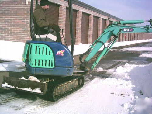 2003 Ihi Mini Excavator Model 15nx Diesel