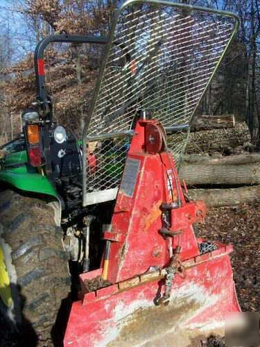 John Deere Gator >> 2003 john deere 4710 w grapple/logging winch/trailer