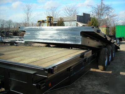 2007 Deck Over Tilt Equipment Trailer 21 000 Gvwr