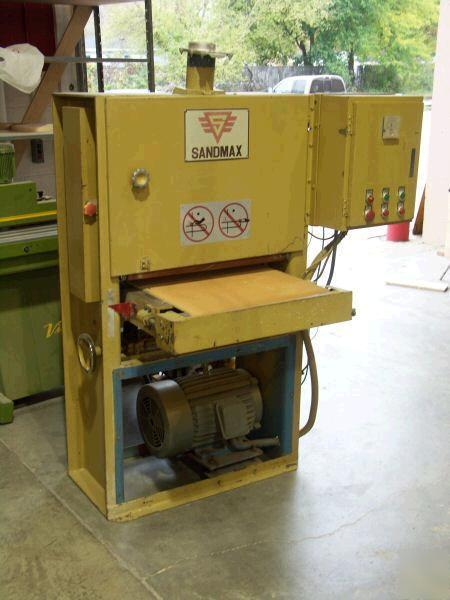 24 quot sandmax wide belt sander condition