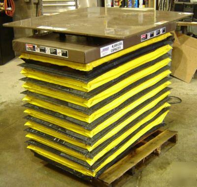 24 X 48 Autoquip 2 Ton Hydraulic Lift Table 3247