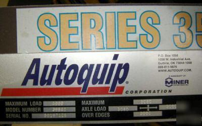 24 X 48 Autoquip 2 Ton Hydraulic Lift Table 3247