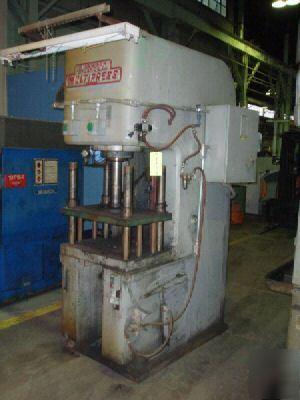 25 ton denison c-frame hydraulic press #24726