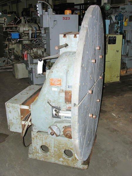 30 60 Pratt Whitney Vertical Motorized Rotary Table