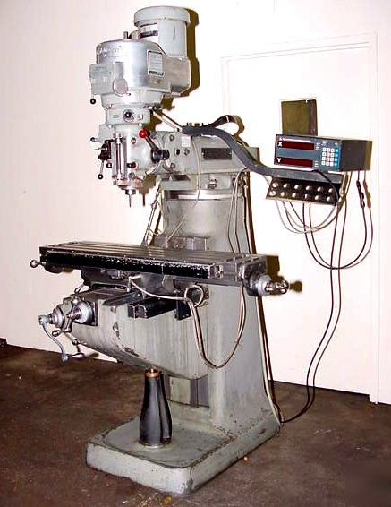How to Use a Bridgeport Series 1 Vertical CNC Mill