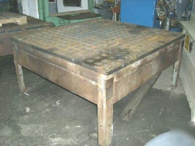 5 X 5 Acorn Welding Table No 5050 Nice 20250