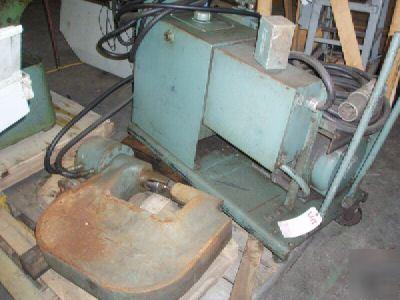 70 ton whitney (wa) portable hyd c-frame beam punch