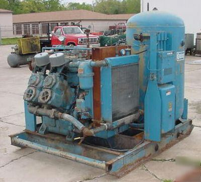 75 hp quincy piston type air compressor for Piston type air motor