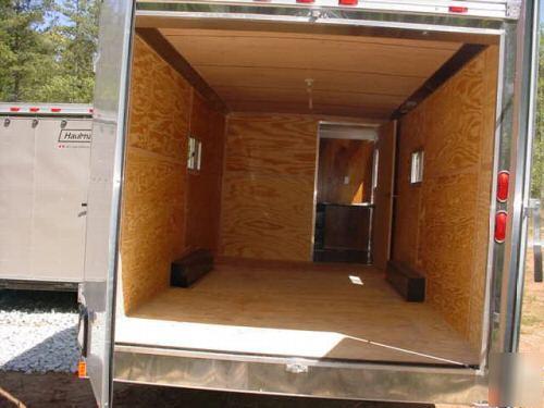 5X28 haulmark enclosed cargo office trailer