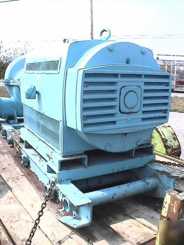 Allis Chalmers Electric Water Pump W 600 Hp U S Titan