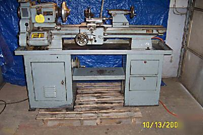 Atlas clausing 12X36 lathe toolroom gear head machine
