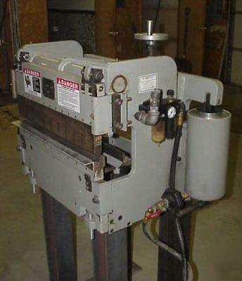 Bantam 24 Quot 12 Ton Air Operated Press Brake Clean Usa