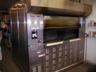 Baxter 12 Pan Revolving Tray Natural Gas Baking Oven