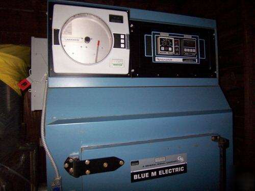Blue M Electric Batch Oven 166rt 16cf Temp Range 600f