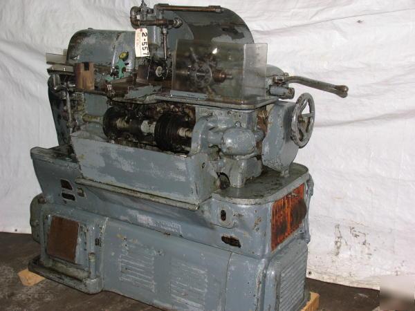 Brown sharpe automatic screw machine double chain