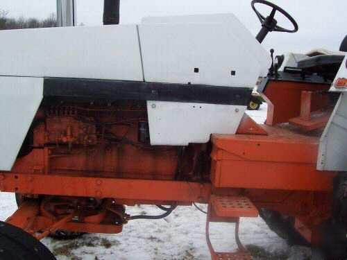 Case 1370 Farm Tractor 504 Turbo 3 Point Hitch Pto