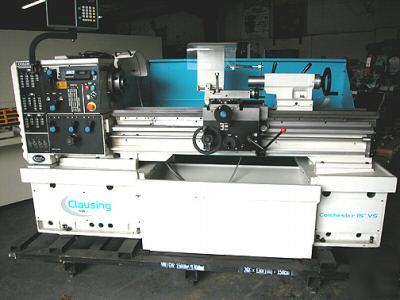 Clausing colchester model 8044VS variable speed lathe