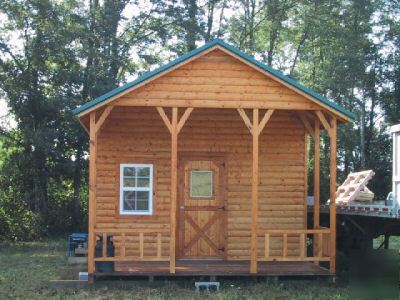 Complete Precut Easy To Assemble Log Cabin Kit