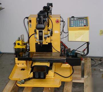 Dyna Myte 2400 Cnc Vertical Bench Top Milling Machine