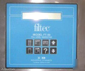 Filtec Industrial Dynamics Ft 50 Fill Height Inspector