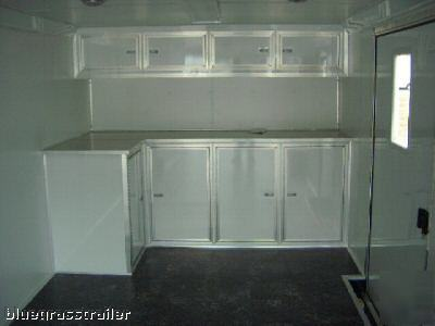 Haulmark Race Trailer 8 5 X 30 3 Ton W Cabinets