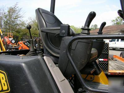 Jcb mini tractor loader backhoe, 47 hp diesel, 4 wd