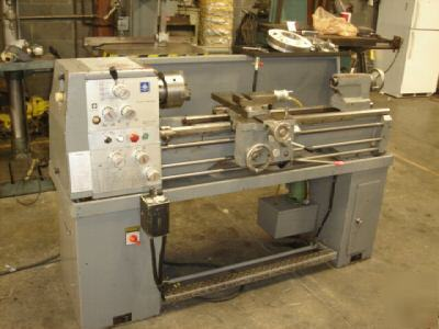 Jet lathe model 1240PD with gap and tooling perfect