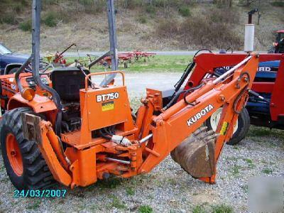 Kubota B20 Tractor Loader Backhoe Hydro