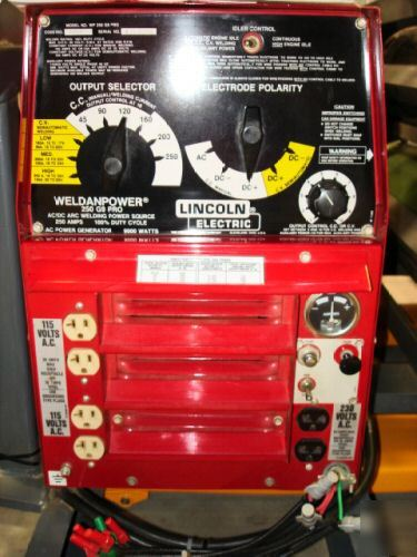 Lincoln 250 G9 Pro Amp Victor Oxy Acetylene On Pro Skid