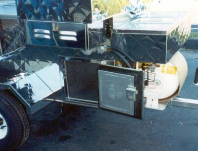 New Creative Mobile Systems 325 Hot Dog Carts