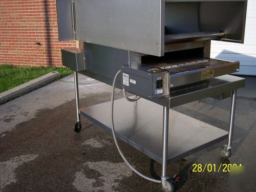 Pizza Conveyor Oven Pizza Pride Electric W Hood