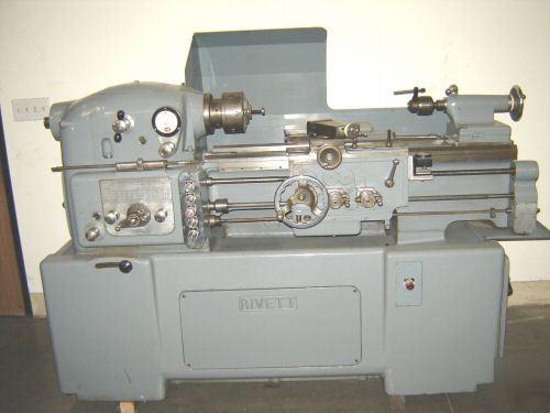 Rivett 1030F precision engine lathe monarch ee