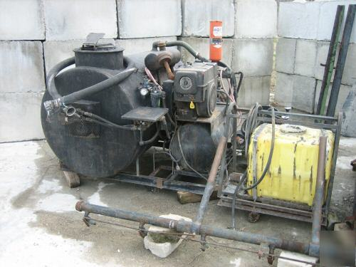 Electric Hydraulic Pump >> Sealcoating able 300 & 500 gal tanks -seal coating