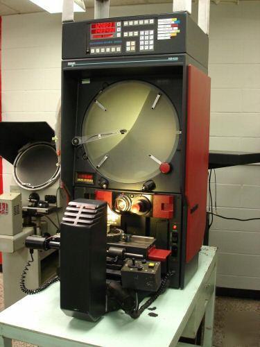 Starrett Sigma 16 Quot Comparator Hb400 Profile Projector