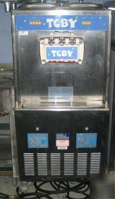 taylor 754 gravity fed 3 head soft serve machine