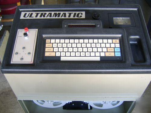 ultramatic embroidery machine